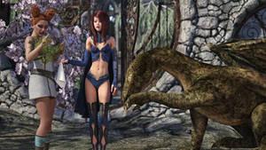 My Snotty Dragon! by Edheldil3D