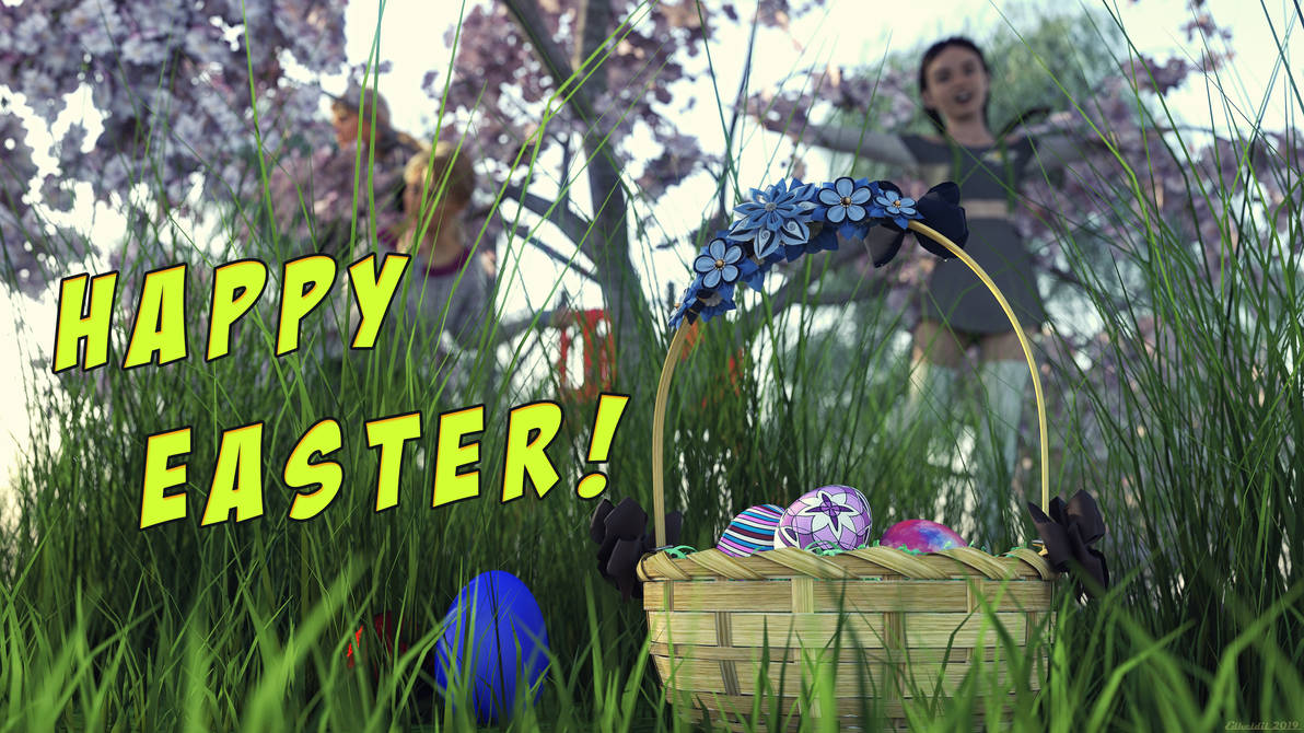 Happy Easter! by Edheldil3D