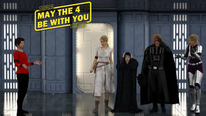 May the 4(th) be with you!! by Edheldil3D
