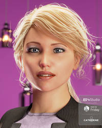 Catherine 8 in store now! by Edheldil3D