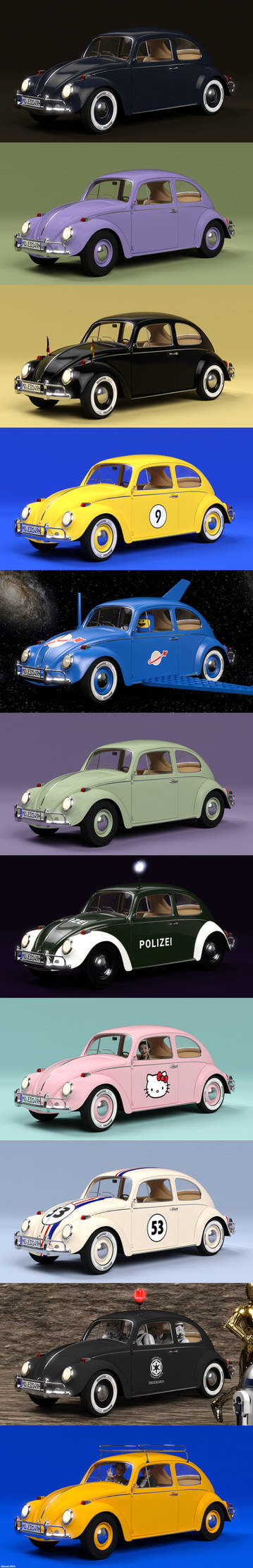 VW Beetle Variations!