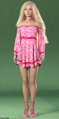 Doll model similar to Tonner American Model