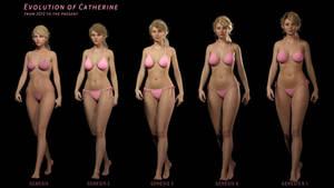 Evolution of Catherine