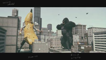 King Kong vs BananaEd