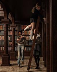 The danger of reading books