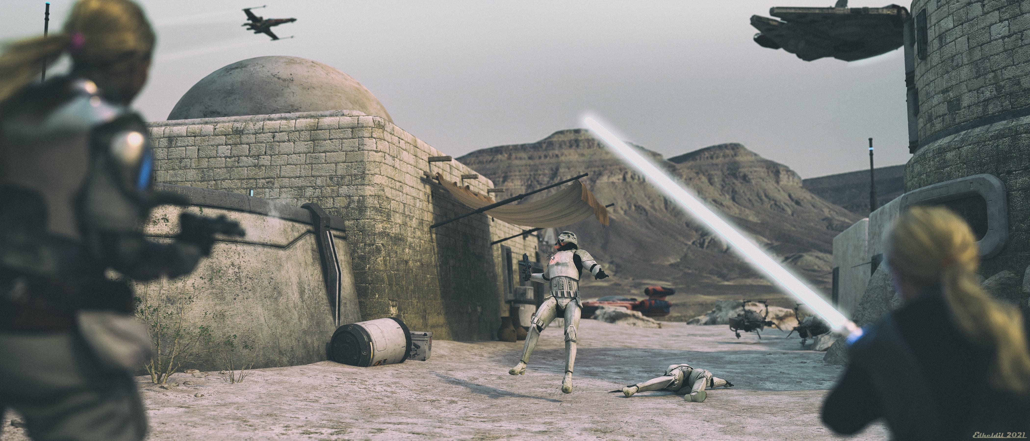 Star Girls - Showdown on Tatooine