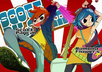 Scott Pilgrim VS The World by kawai666