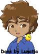 Harvest Moon Character-Danny by Lunatia