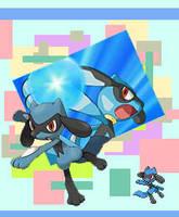 Pokemon-Riolu by Lunatia