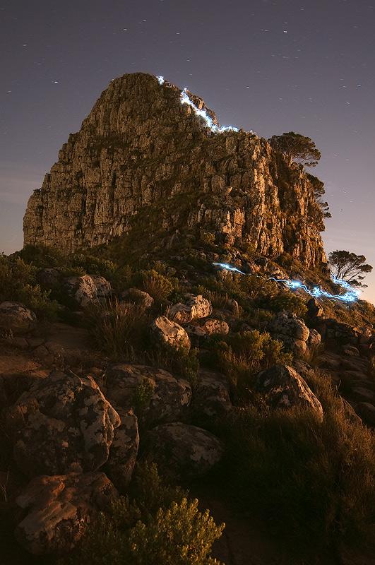Descending Lion's Head by prperold