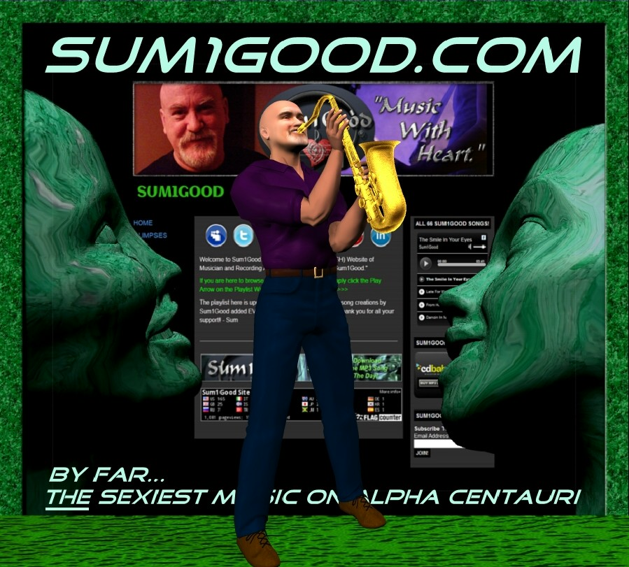 Sum1Good 3D Saxophone Avatar by Sum1Good