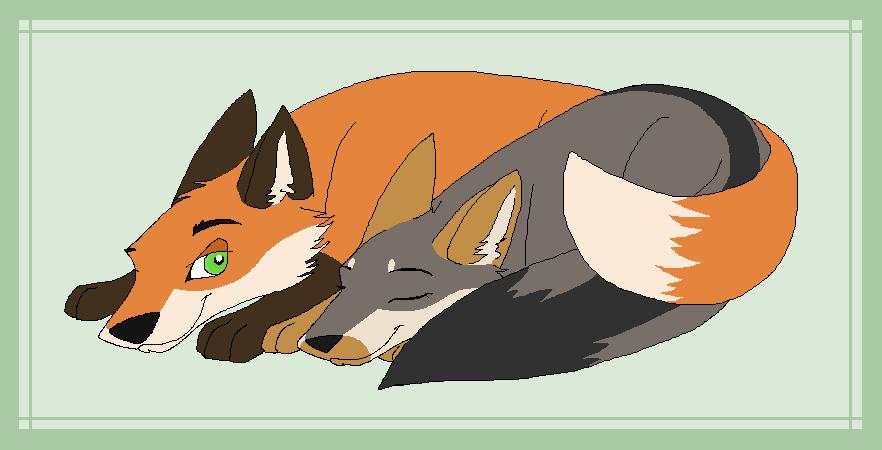 Artista de Devian-Art: Mitsuki-Wolf. *w* - Página 2 Nap_time_by_mitsuki_wolf-d5oy0ad