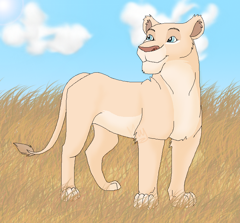Artista de Devian-Art: Mitsuki-Wolf. *w* - Página 2 Lioness_by_mitsuki_wolf-d5p29cs
