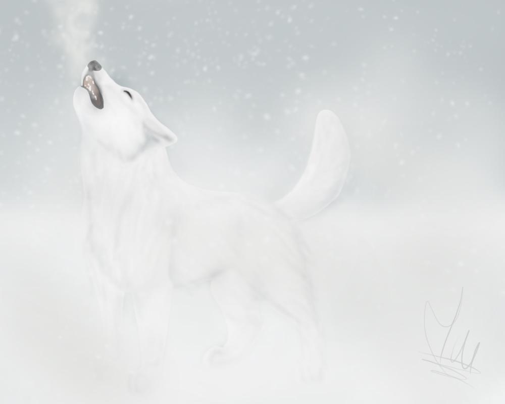 Artista de Devian-Art: Mitsuki-Wolf. *w* - Página 3 Lonely_howl_by_mitsuki_wolf-d66kbti