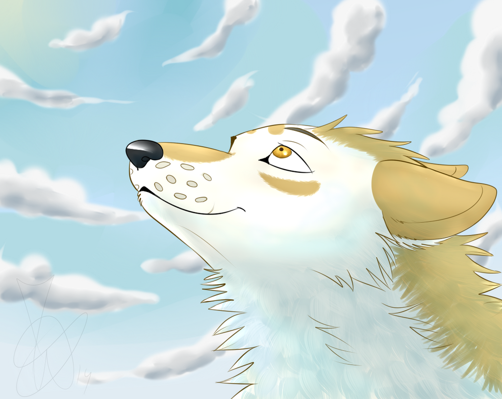 Artista de Devian-Art: Mitsuki-Wolf. *w* - Página 3 To_the_sky_by_mitsuki_wolf-d7nzz45
