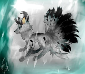 Ninetailed Winter Spirit Fox tsukiko