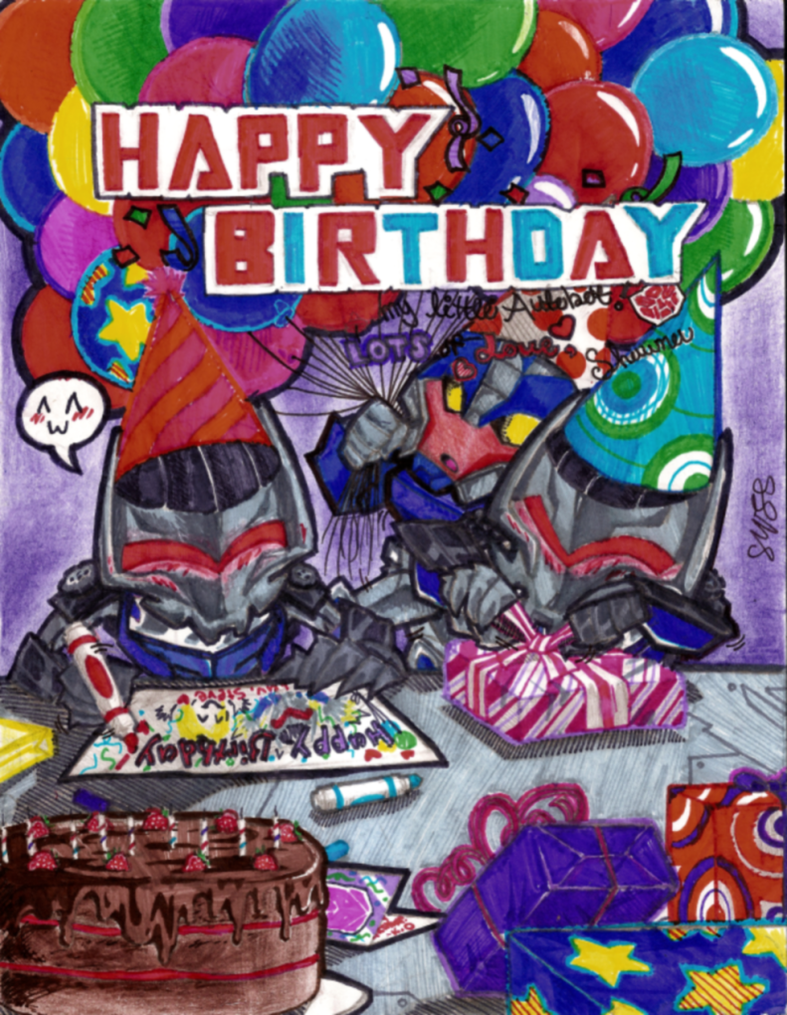 Transformers Prime Birthday Pic by pixiedust96 on DeviantArt