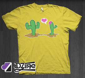 Dzine Clothing Cactus Love by DzineClothing