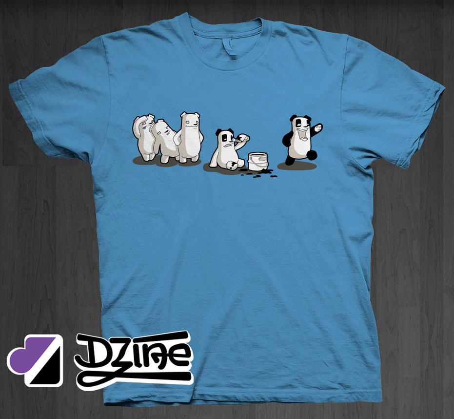 I Wanna Be A Panda by DzineClothing