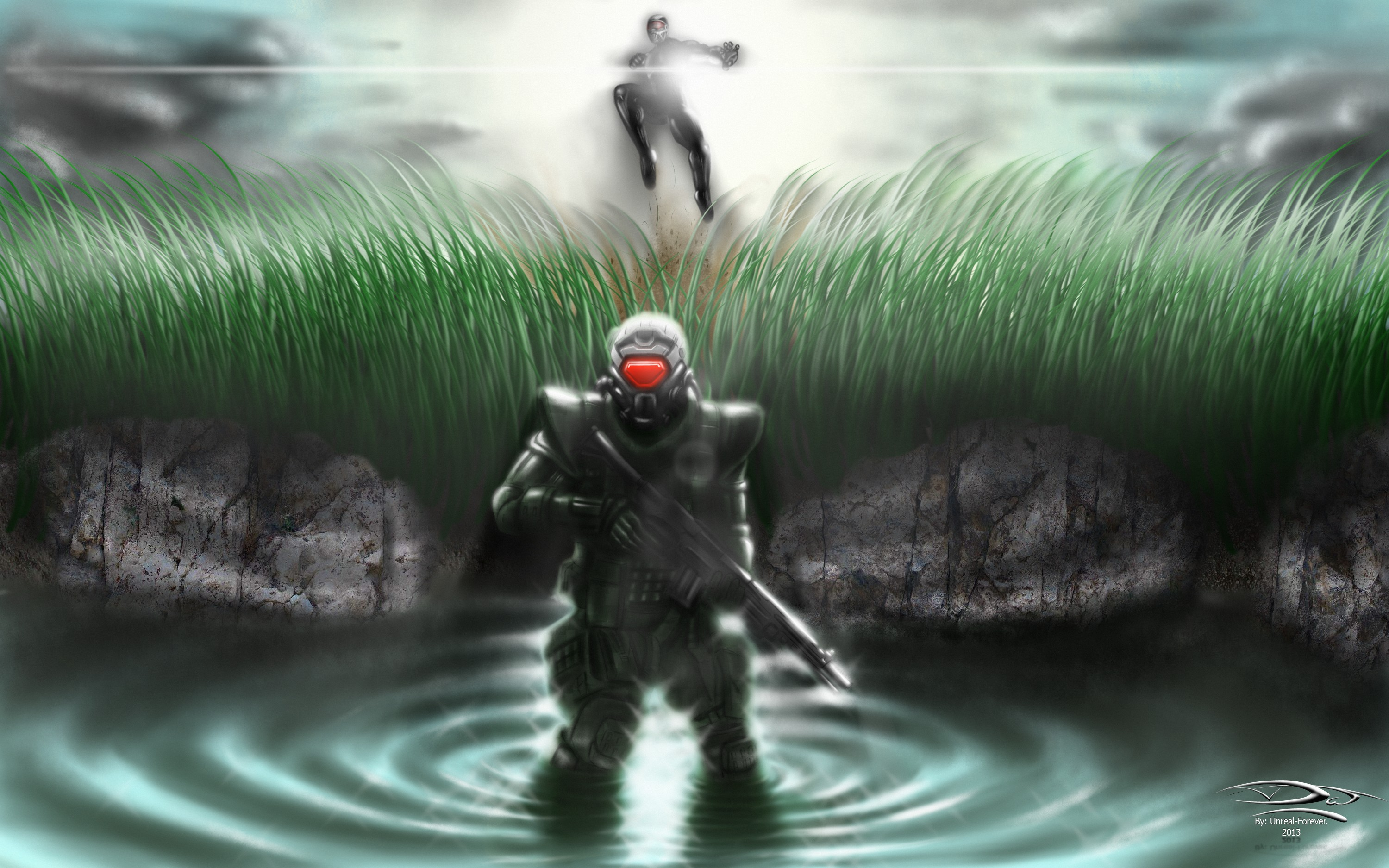 Crysis 3 - Silent Air Stomp by Unreal-Forever