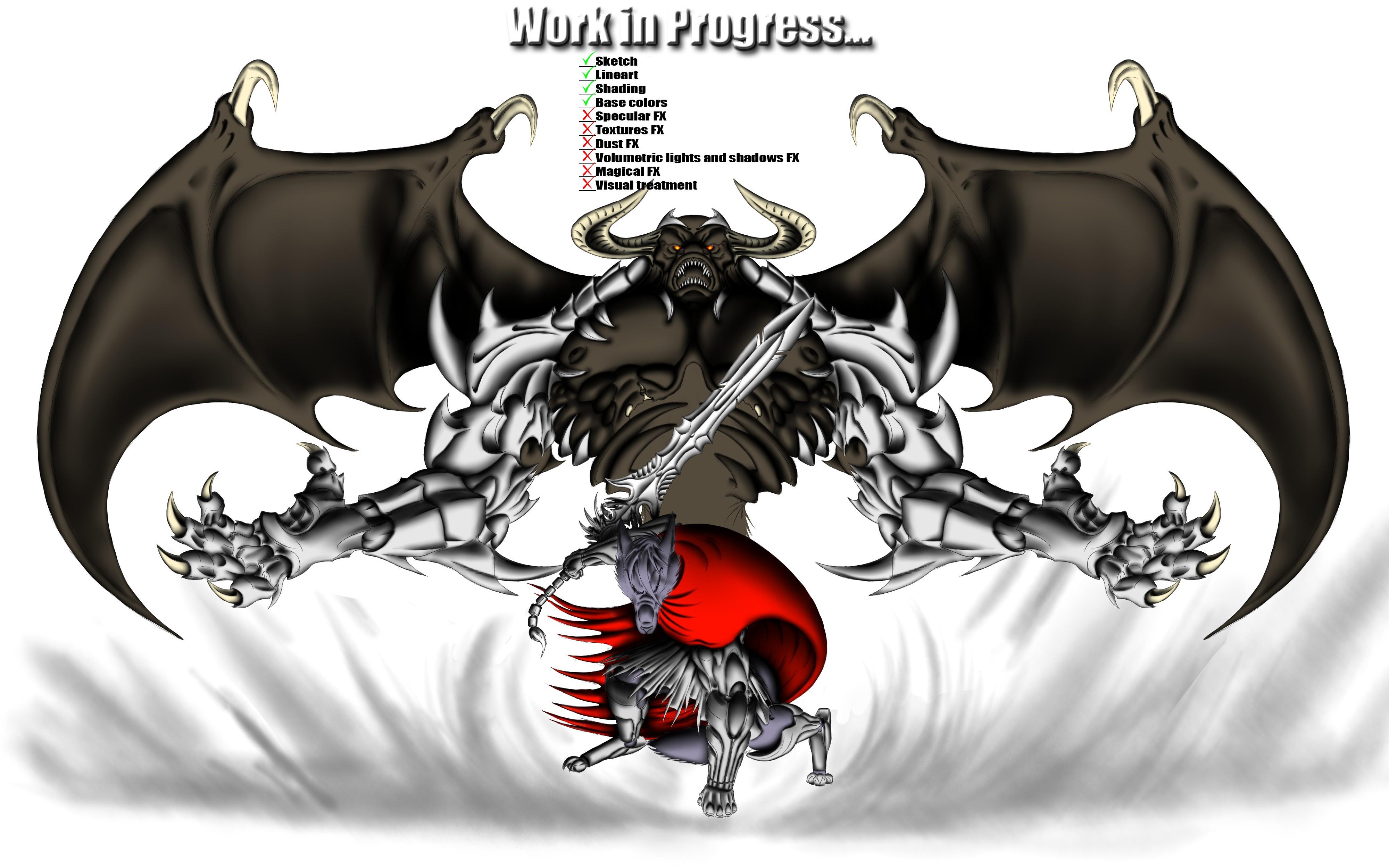 Sorcerer of Battle v3_The Great Invocation -WIP v3 by Unreal-Forever