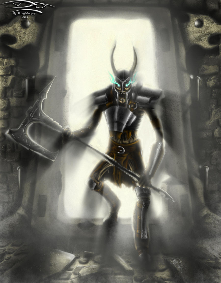 Skyrim - Draugr DeathLord (Full Body) by Unreal-Forever