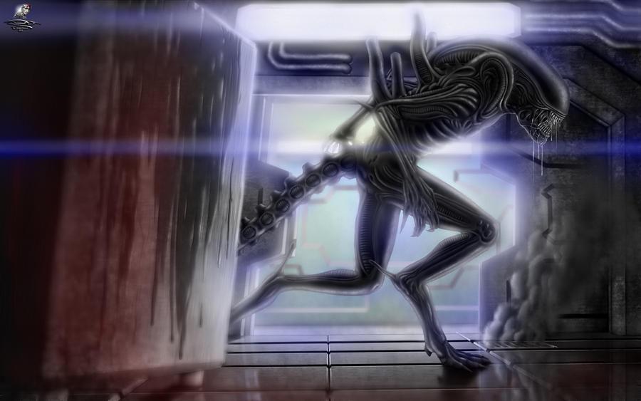 Alien Isolation + Speed-Paint