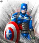Captain America - Gift for hotrodsimpulse
