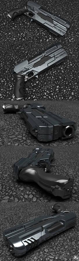 Pistol RG-AM.95 for NanoFoX Proyect