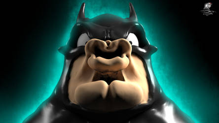 BatMetal - So strong my face is (3D Render)