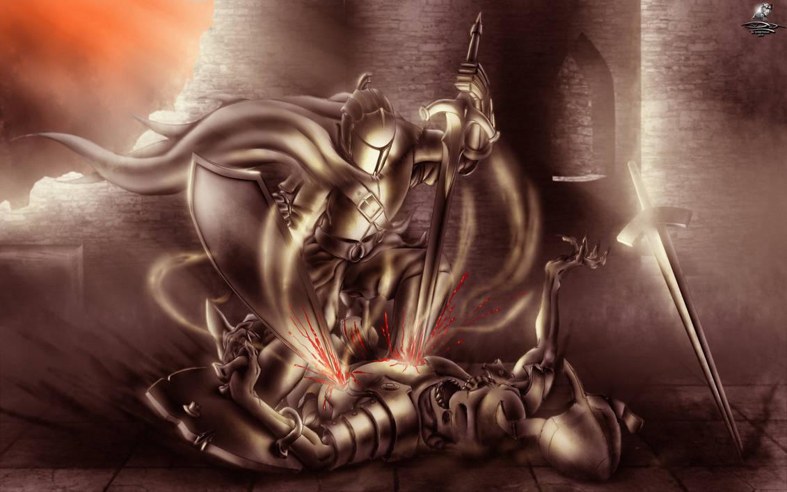 Dark Souls + SpeedPaint