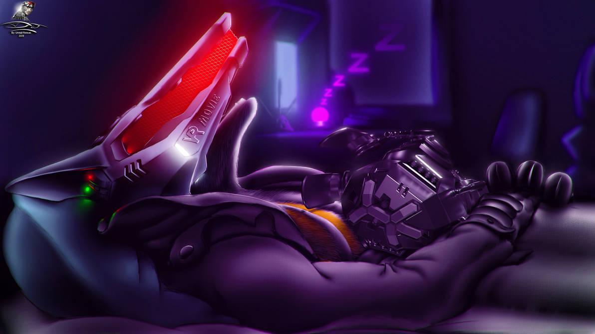 NanoFoX and Zero-01 - Sleeping