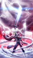 Storm Power from Heaven - NanoFoX by Unreal-Forever