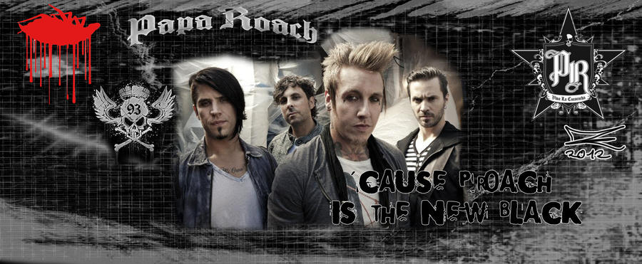Cause PROACH is the NEW BLACK- Facebook  cover by JadeTheAngle777