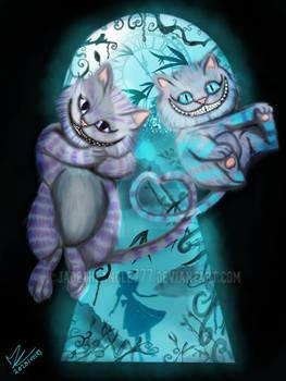 Cheshire Cat In Love