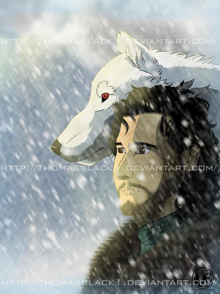 Jon Snow by ThomasBlack1