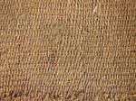 Fabric woven mat
