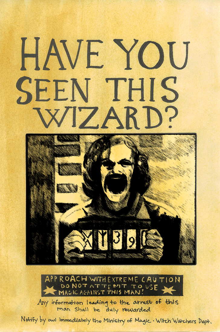 Sirius Black Wanted Poster Sirius black by danielu92