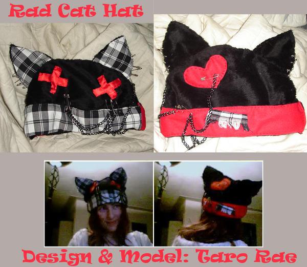 Rad Cat Hat by tarorae