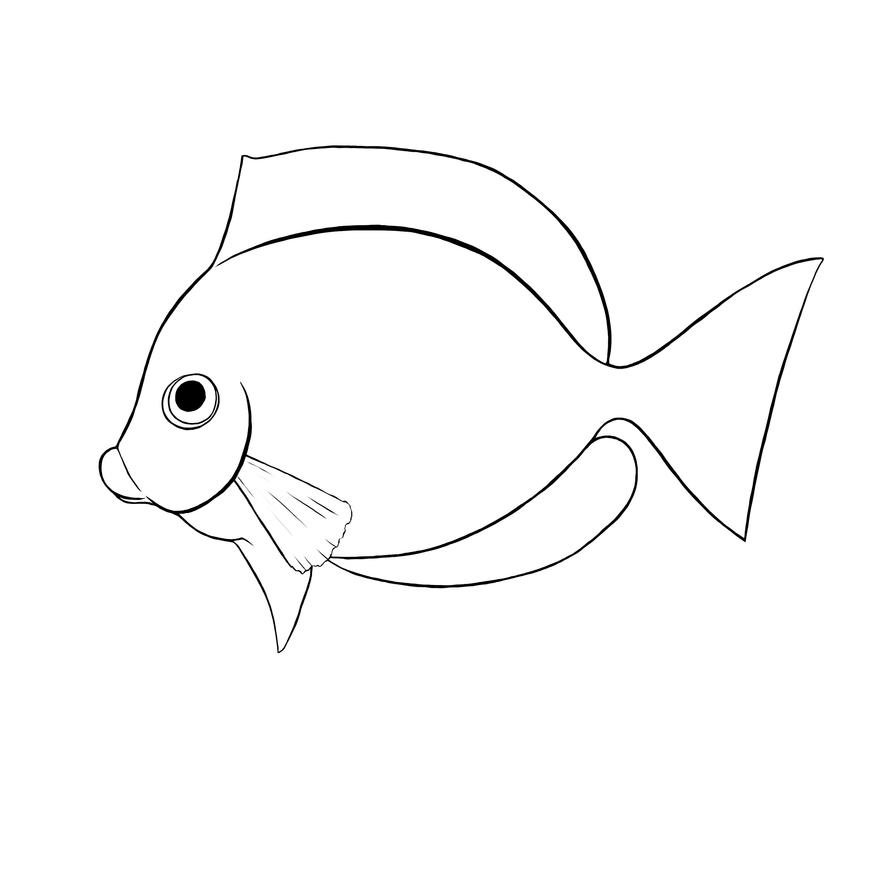 fish as pets coloring pages - photo#22