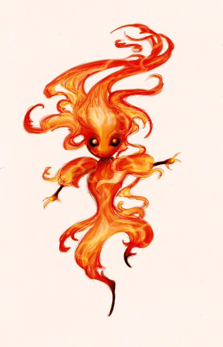 Igni, the Fae of Flames