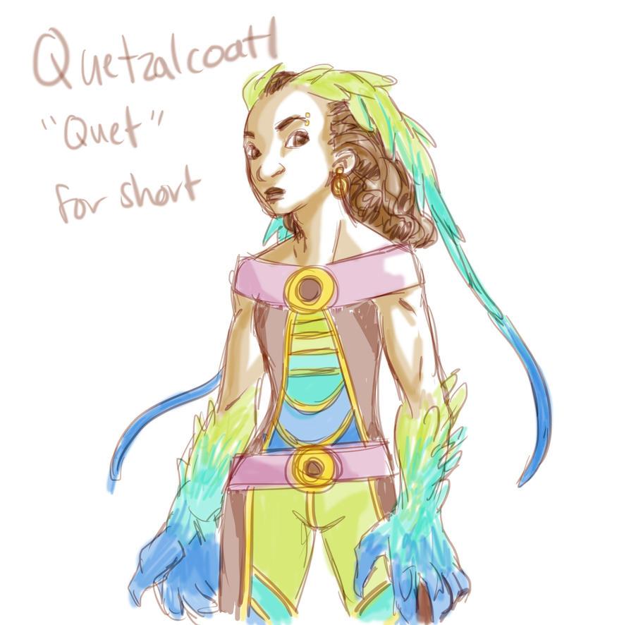 Quetzalcoatl by tarorae