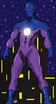 Super Hero Clock Color by VulcanEnki
