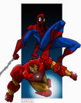 Spiderman n IronMan