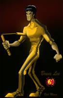 Bruce Lee by Misterho