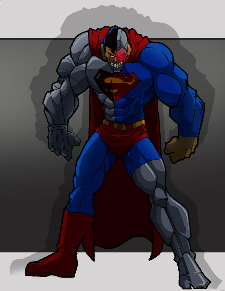 Cyborg Superman by Misterho
