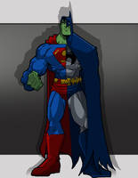 Composite Superman by Misterho
