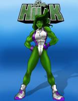 She-Hulk by Misterho