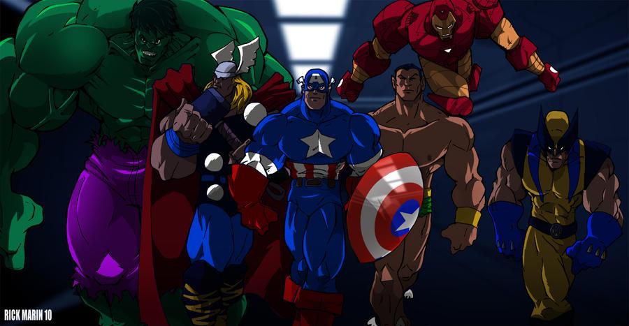 Avengers Assemble by Misterho