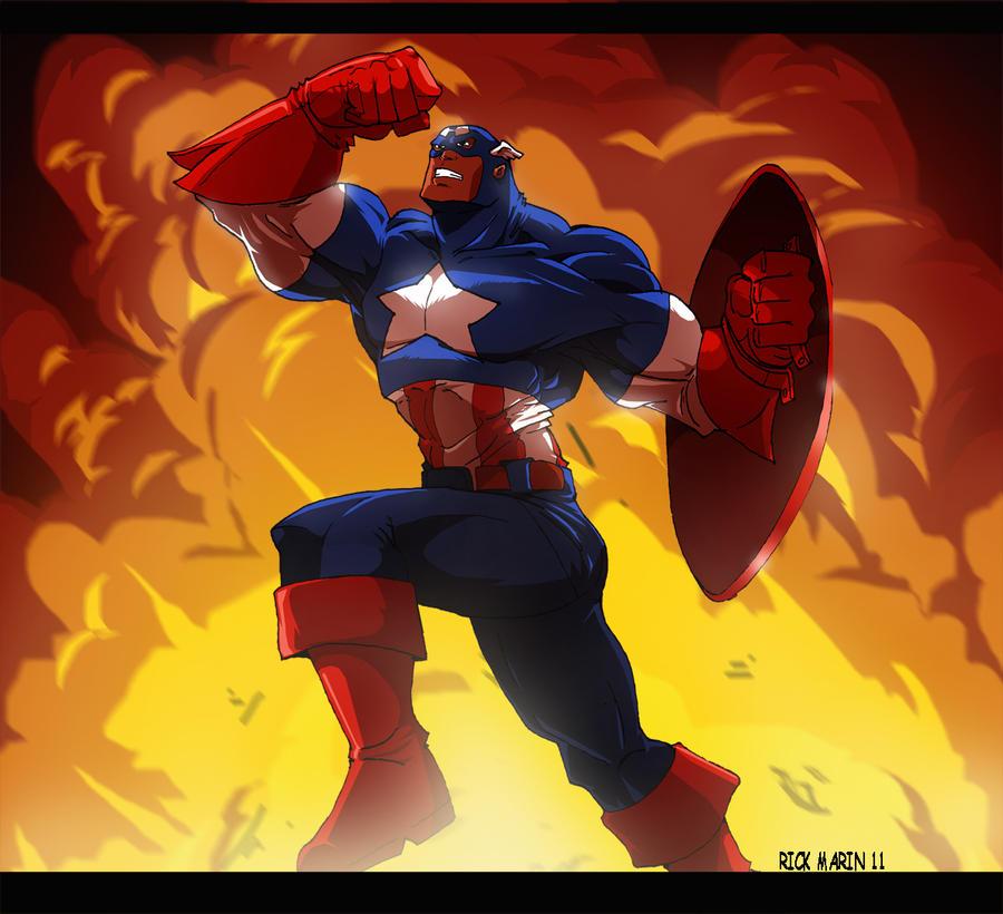Captain America by Misterho